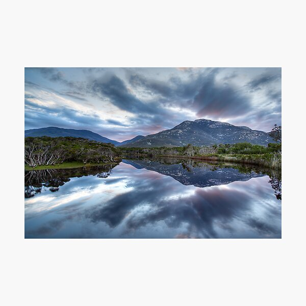Tidal River Reflections Photographic Print