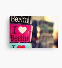 Streets of Berlin #4 Canvas Print
