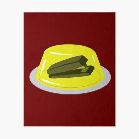 Stapler In Jello, Office Prank For The Brave Design, Original Funny Gift Idea, Dwight Best Quote From Office Art Board Print