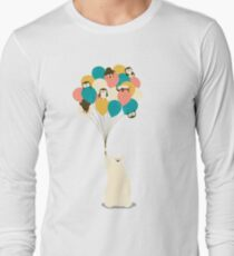 Penguin Bouquet Long Sleeve T-Shirt