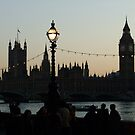 Westminster at Sunset (1) by Themis