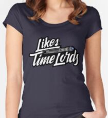 Likes Time Lords Women's Fitted Scoop T-Shirt