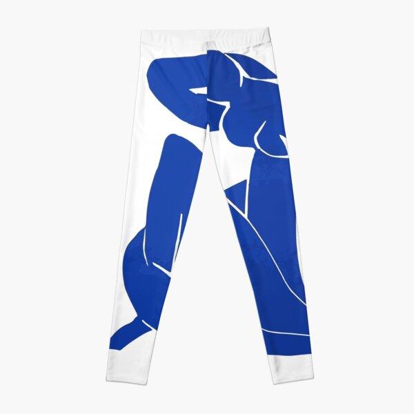 Henri Matisse - Blue Nude 1952 - Original Artwork Reproduction Leggings
