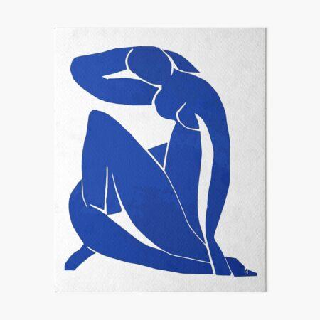Henri Matisse - Blue Nude 1952 - Original Artwork Reproduction Art Board Print