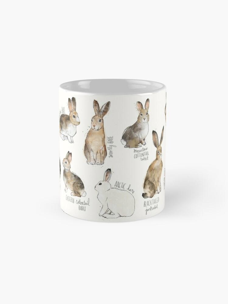 Alternate view of Rabbits & Hares Mugs