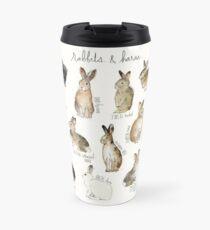 Kaninchen und Hasen Thermosbecher