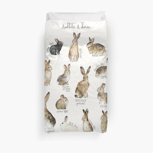 Rabbits & Hares Duvet Cover