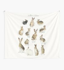 Rabbits & Hares Wall Tapestry