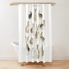 Rabbits & Hares Shower Curtain