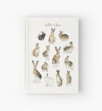 Rabbits & Hares Hardcover Journal