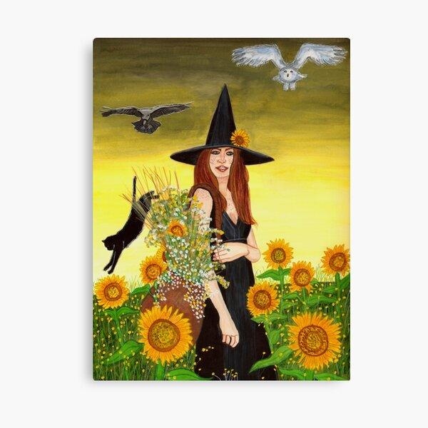 Gathering - Witch Art Canvas Print