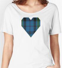 00692 Notre Dame Marching Guard Tartan Women's Relaxed Fit T-Shirt
