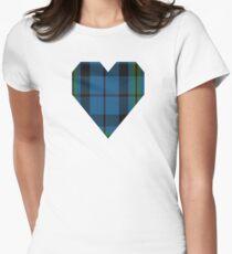 00692 Notre Dame Marching Guard Tartan Women's Fitted T-Shirt