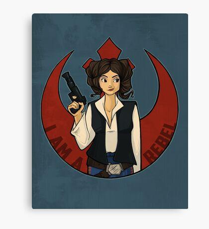 Rebel Girl Canvas Print