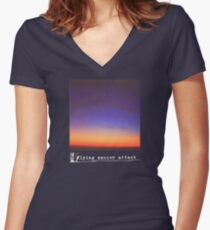 Flying Saucer Attack : Rural Psychedelia Women's Fitted V-Neck T-Shirt