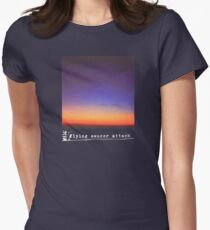 Flying Saucer Attack : Rural Psychedelia Women's Fitted T-Shirt