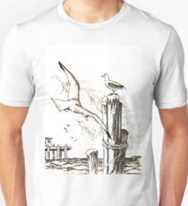 Seagulls Unisex T-Shirt