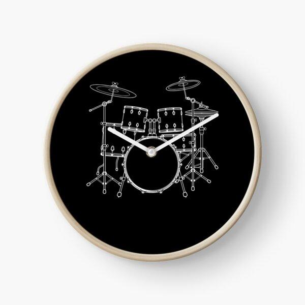 Drummer - drums Clock