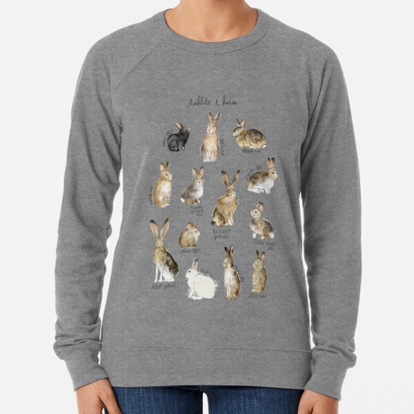 Rabbits & Hares Lightweight Sweatshirt