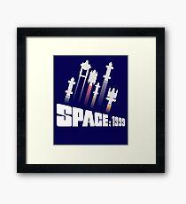 Space: 1999 Ships Blasting into Orbit Framed Print