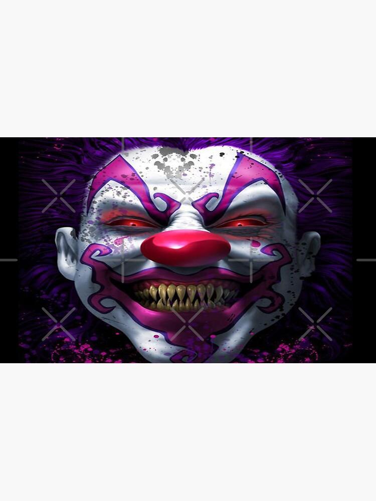 Cool Horror Killer Clown by leen12