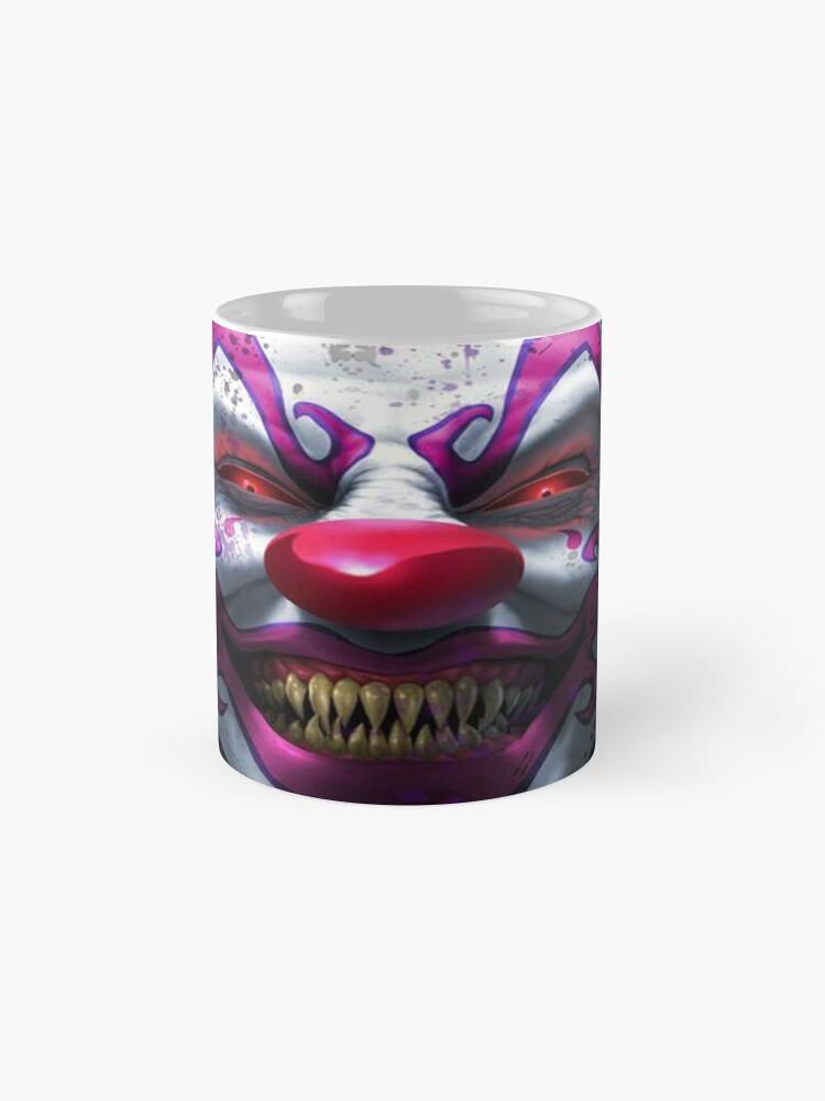 Alternate view of Cool Horror Killer Clown Mug