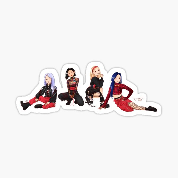 MAMAMOO HIP Sticker
