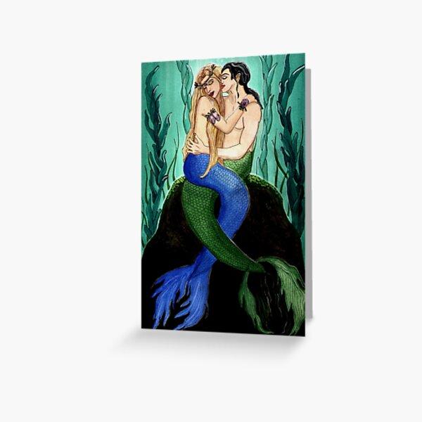 Devocean - Mermaid Fantasy Art Greeting Card