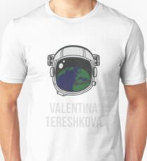 VALENTINA TERESHKOVA (Light Lettering) - Clothing & Other Products T-Shirt