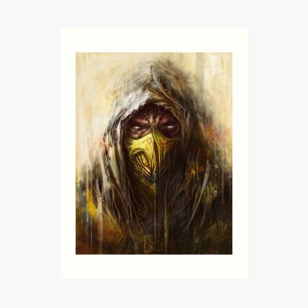 Tomek Biniek - Scorpion Art Print