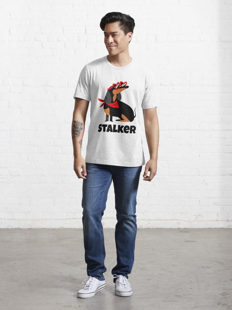 Alternative Ansicht von Dachshund Stalker Essential T-Shirt