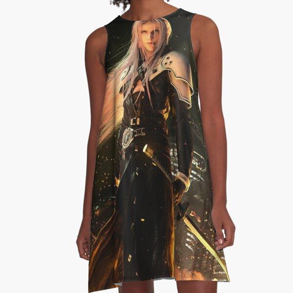 Sephiroth FFVII Remake A-Line Dress