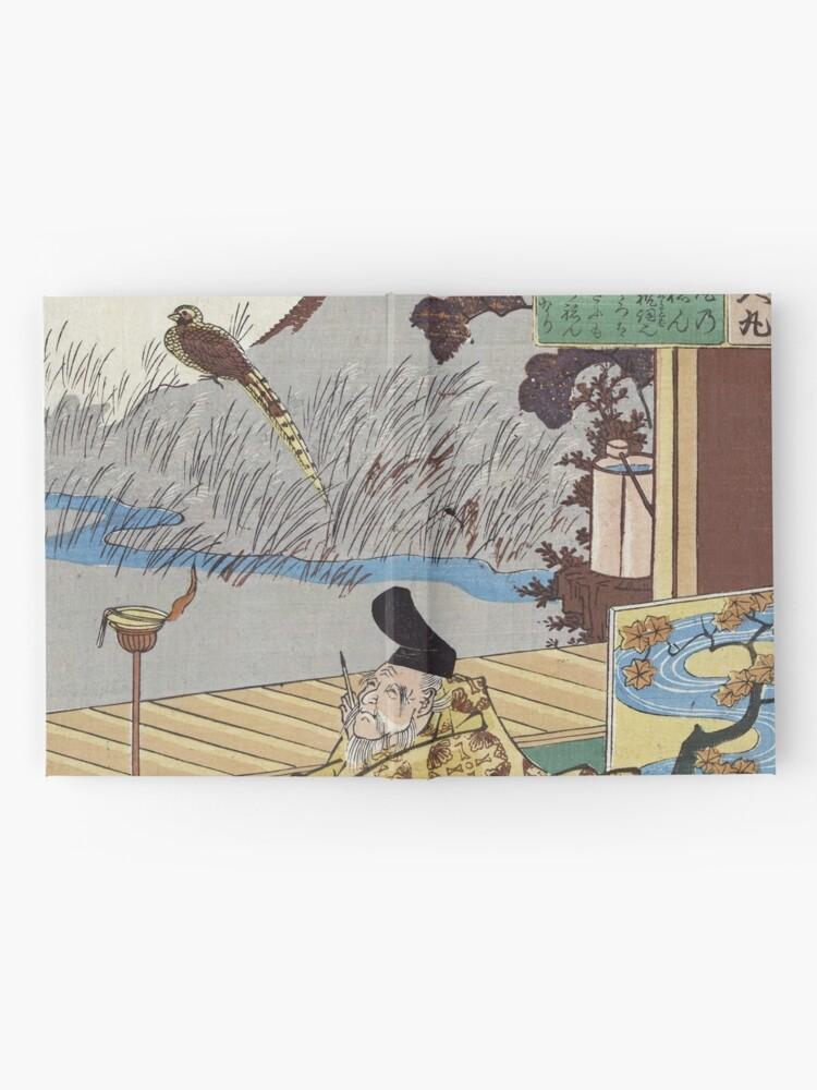 KAKINOMOTO NO HITOMARO fine art print poster JAPAN 24X36 scholar pheasant ART