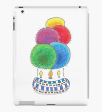 Hot Air Cacti Balloon | Rainbow Globe Bunch iPad Case/Skin