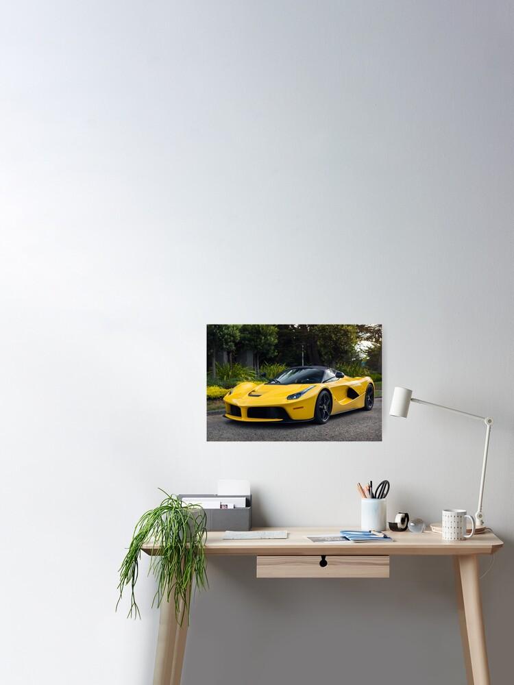 New Ferrari Laferrari Poster