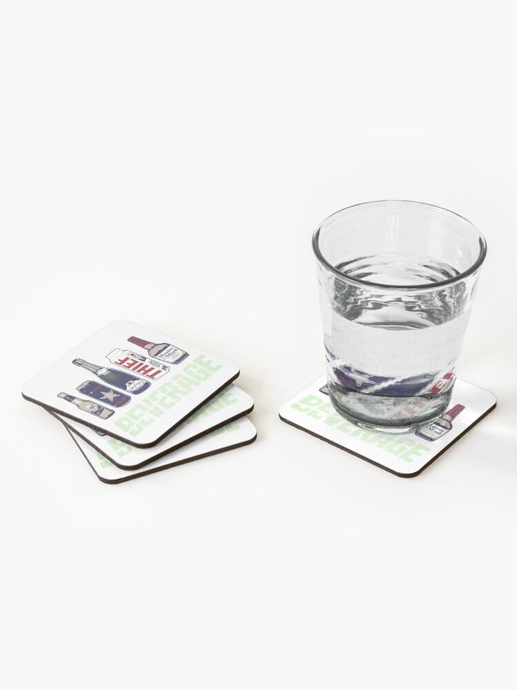 Alternate view of We Provide... Beverage Coasters (Set of 4)