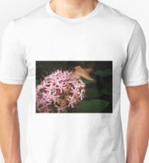 Hummingbird Moth in Clerodendrum Unisex T-Shirt