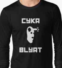 Cyka Blyat CSGO Long Sleeve T-Shirt