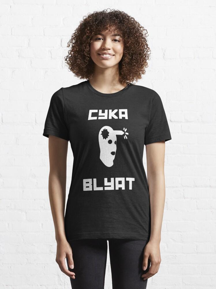 Alternate view of Cyka Blyat CSGO Essential T-Shirt