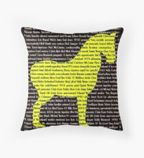 """""""The Year Of The Horse"""" Throw Pillow"""