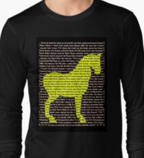 """The Year Of The Horse"" Clothing Long Sleeve T-Shirt"