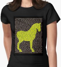 """""""The Year Of The Horse"""" Clothing Women's Fitted T-Shirt"""