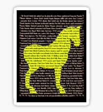 """""""The Year Of The Horse"""" Clothing Sticker"""