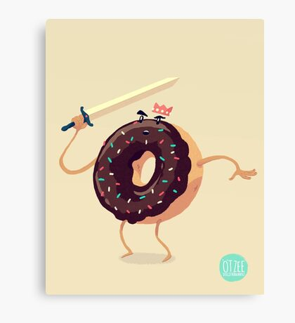 Baked To Rule Canvas Print