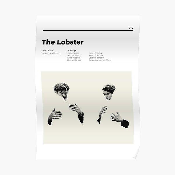 The Lobster - Minimalist Movie Poster - Yorgos Lanthimos Poster