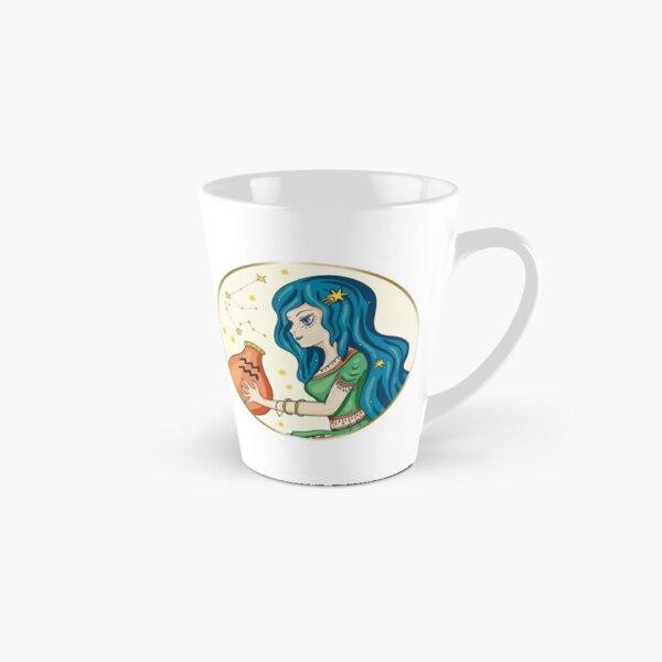 Aquarius Woman Zodiac Astrology Sign Tall Mug