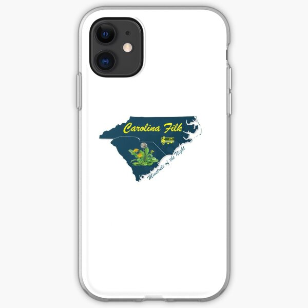 Carolina Filk iPhone Soft Case