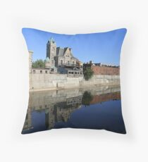Reflection On The River - Featured Photo Throw Pillow