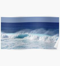 sea wave serie 1 Poster