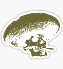Sombrero de los Muertos - green Sticker
